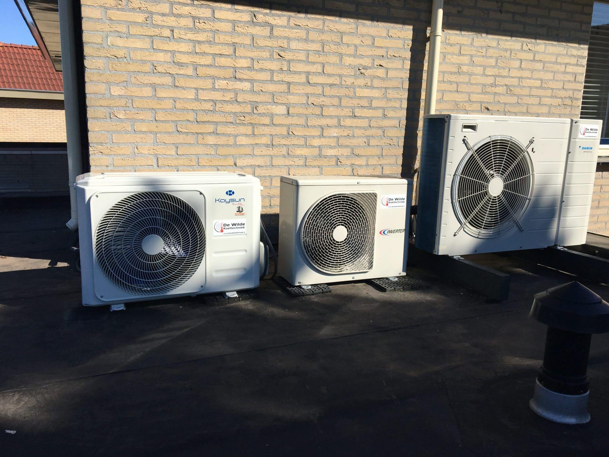 split unit   Airconditioning   De Wilde Koeltechniek   Tiel