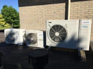 Project warmtepomp Tiel   De Wilde Koeltechniek